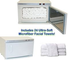 towel spa. Wonderful Spa Buy High Capacity Hot Towel U0026 UV Sterilizer Cabinet 24 UltraSoft  Microfiber Facial Towels With Spa