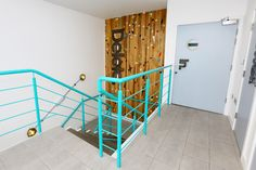 Office entrance, open plan office interior at Delete Leeds   by Redesign