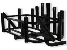 This is surf fishing rod rack for professionals featuring 12 rod holders. 2 of…
