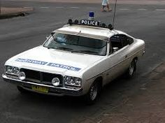 An original Charger Highway Patrol car as was used by the NSW Police Highway Patrol in the Chrysler Charger, Chrysler Cars, Old Police Cars, Ford Police, Australian Muscle Cars, Aussie Muscle Cars, Chrysler Valiant, Holden Australia, Emergency Vehicles