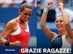 La finale degli US Open di Tennis, che vede lo scontro delle italiane Roberta Vinci e Flavia Pennetta, andrà in onda su Deejay Tv, canale 9 del digitale terrestre