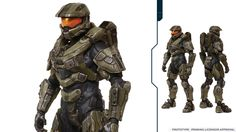Master Chief looks so much more badass in Halo Look at them details! Master Chief Cosplay, Halo Master Chief Helmet, Master Chief Armor, Master Chief Costume, Halo 5 Armor, Lego Halo, Halo Cosplay, Halo Spartan, Halo Game