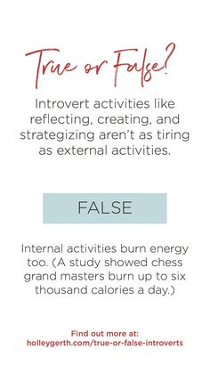 How much do you really know about introverts? 7 true/false statements. #introvert #extrovert #personality Introvert Activities, Do You Really, Love You, Writers, Personality, Social Media, Coffee, Sayings, Reading