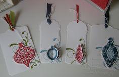 Tags Close - Christmas Card Caper  www.magpiecreates.com