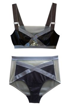 """Modernised grandmother style ;)  VPL Trellage Bra & Trellage Undi // """"These Boudoir-Worthy Underthings Will Transform Your Day (And Night)"""" - @Refinery29"""