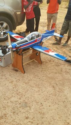 Gas RC Plane @ Aleita Flying Field.