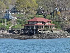 PORTLAND, MAINE: Little Diamond Island, Maine.
