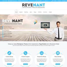 Revenant Responsive Business WordPress Theme | Best WordPress Themes Download 2013