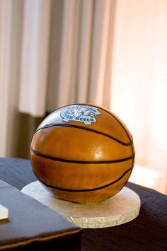 Tarheel basketball cake. Sweet On Cake.
