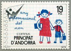 アンドラ(西管轄) 1979年国際子供年