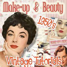 40 Ideas vintage makeup tutorial 1950 for 2019 1950 Makeup, 1950s Hair And Makeup, Pin Up Makeup, Retro Makeup, Crazy Makeup, Makeup Art, Emma Makeup, 1950s Makeup Tutorial, Vintage Makeup Tutorials