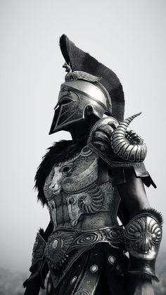 Greek Warrior, Fantasy Warrior, Best Sleeve Tattoos, Tattoo Sleeve Designs, Tattoo Guerreiro, Sparta Tattoo, Gladiator Tattoo, Greek Mythology Tattoos, Knight Tattoo