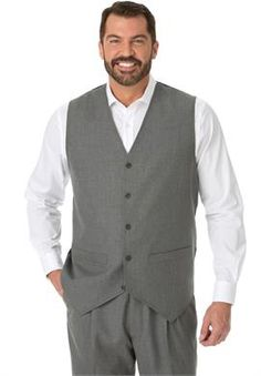 Big and Tall Suit Vest