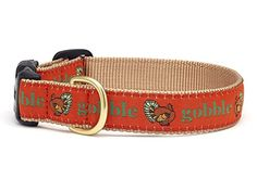 Up Country Gobble Gobble Thanksgiving Holiday Dog Collar Available in (4) Sizes ** You can find out more details at the link of the image. (This is an affiliate link and I receive a commission for the sales) #MyPet