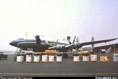 VARIG LOCKHEED L-1049 SUPER CONSTELATION, credit to the author.