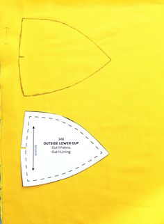 The Best Way to Cut Out Pattern Pieces on the Orange Lingerie blog.