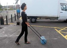 walking powered clothes washer LOL!!