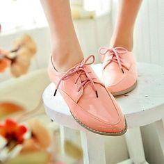 planos del talón puntiagudos zapatos de los oxfords de los pies de las mujeres (más colores) – EUR € 25.78