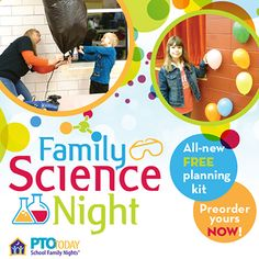 Preorder our free Family Science Night kit now!