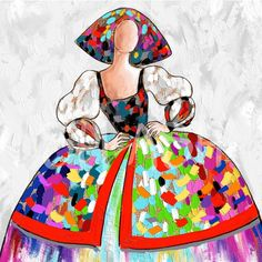 Abstract Faces, Fashion Design Drawings, Artist Art, Designs To Draw, Art Dolls, Arts And Crafts, Watercolor, Disney Characters, Illustration