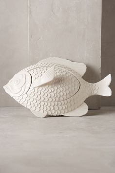 Posted : tinamotta.tumblr.com  Fonte : https://www.anthropologie.com/shop/archipelago-fish-tureen/