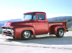 1956 Ford F100 Custom Restoration