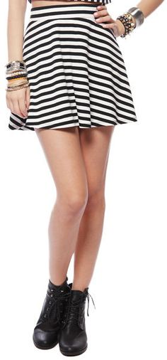 #papayaclothing.com       #Skirt                    #Papaya #Clothing #Online #A-LINE #STRIPED #SKIRT   Papaya Clothing Online :: A-LINE STRIPED SKIRT                                http://www.seapai.com/product.aspx?PID=1844421