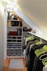 closet built into slanted ceiling - Yahoo Image Search Results