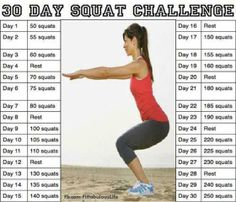 brazen+fitness | The 30 Day Squat Challenge