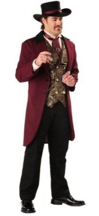 Super Deluxe Riverboat Gambler Costume - Mens Medium. .x{color:#83C22D;margin:0px;font-size:12px}.y{color:#A56EBA}SUPER DELUXE RIVERBOAT GAMBLER COSTUMECasino and Gambler Costumes(Item #WEST152-MM)Size: Mens MediumIn stock, ready to ship!This is a BRAND NEW costume in its original packaging.Super Deluxe Riverboat Gambler Costume  We DO combine shipping! So you will save money on shipping for each additional item you purchase.