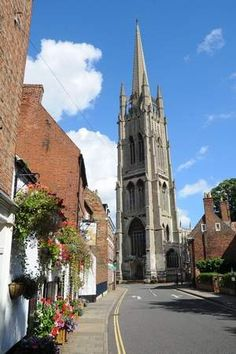 Lovely Louth  - Lincolnshire, England with the medieval St James's,  it has the tallest spire of any medieval church in England at 295ft
