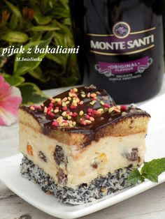Domowa Cukierenka - Domowa Kuchnia: ciasto pijak z bakaliami