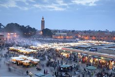 Marrakesh, Morocco..Will be eating at the Disney version soon but wish i could visit the real one!!