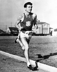 100 years ago today, a legend was born. He defied limits and tested possibility. He lived his life with passion and love. He is one of my greatest inspirations and role models. Olympic Athletes, Sport Man, Track And Field, Olympians, Role Models, Running, American, Emil Zatopek, Wwii