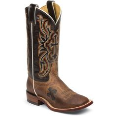 Tony Lama Women's Tan Mad Dog Goat San Saba Western Cowgirl Boots - HeadWest Outfitters