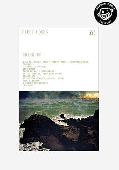 FLEET FOXES Crack-Up Exclusive Cassette