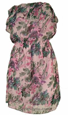Swoon Clothing Lady Brea Rose Dress at Styles2you.com