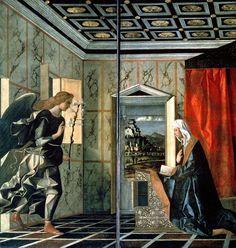 Джованни Беллини (1430 — 1516) Благовещение
