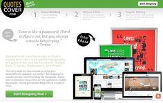 QuotesCover: diseña imágenes de portada, con citas y frases célebres, para Facebook y Google+