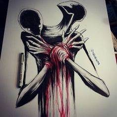 Fingers deep into the heart's beat- Shawn Coss