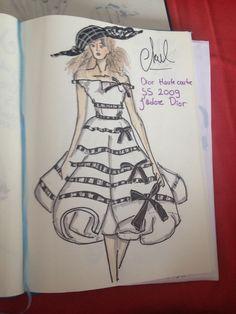 #fashionillustration #dior