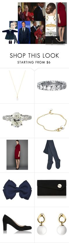"""""""Watching Charlotte receive the Presidential Medal of Freedom from President Barack Obama at the White House"""" by swedish-princess ❤ liked on Polyvore featuring Georg Jensen, L.K.Bennett and Cartier"""