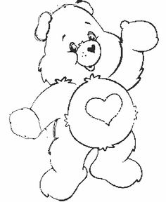 care bears coloring pages | Care Bear Coloring Pages - ColoringPagesABC.com