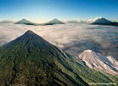 Volcanes de Guatemala!  ♡