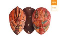 Beautiful Wooden Batik Mask for wall decor