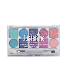 Shop Just Shine 10 Piece Eye & Lip Shadow Palette and other trendy girls cosmetics beauty at Justice. Find the cutest girls beauty to make a statement today. Make Up Kits, Kids Makeup, Cute Makeup, Lip Palette, Makeup Palette, Justice Makeup, Flavored Lip Gloss, Bright Eye Makeup, Unicorn Makeup