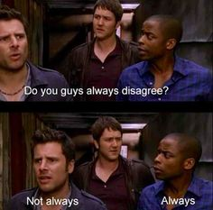 """""""Lets agree to disagree."""""""