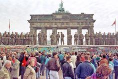 Angela Merkel has urged Europe to defend 'democracy' and 'freedom' as Germany is today marking 30 years since the Berlin Wall fell. Berlin Ick Liebe Dir, Berlin Hauptstadt, Rda, Long Week-end, Brandenburg Gate, East Germany, Germany Berlin, Munich, Europe