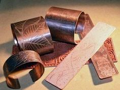 Making Mixed-Metal Jewelry, Part 1: Etching Copper and other metals with Lexi - Jewelry Making Daily
