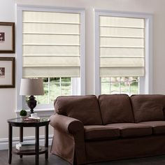 Cordless Roman Shades Top Down Bottom Up Roman Shades